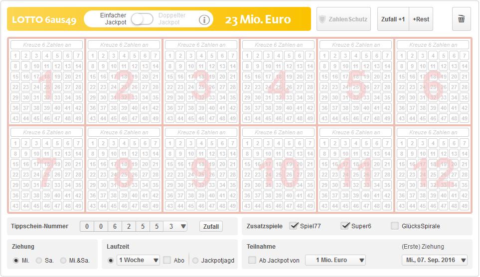 Beste Lottozahlen