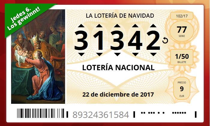 Die wichtigsten Fakten über El Gordo die größte Lotterie der Welt