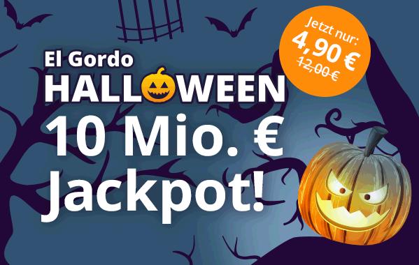 El Gordo Halloween ll▷ Exklusiv bei Lottohelden