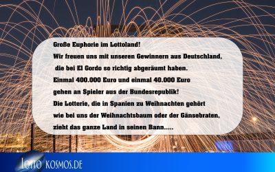 El Gordo im Lottoland abgeräumt!